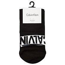 Buy Calvin Klein Modern Logo Ankle Socks Online at johnlewis.com