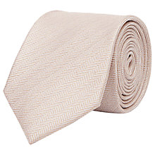 Buy Reiss Solo Herringbone Silk Tie Online at johnlewis.com
