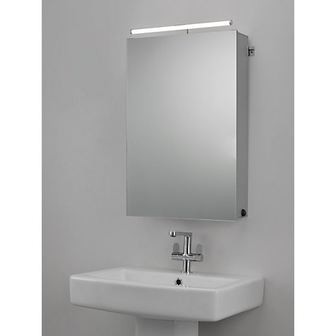 buy john lewis debut single bathroom cabinet online at johnlewiscom - Bathroom Cabinets John Lewis