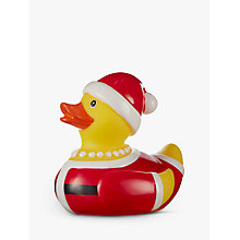 Buy John Lewis Mrs Claus Santa Rubber Duck Online at johnlewis.com