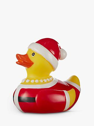 John Lewis & Partners Mrs Claus Santa Rubber Duck