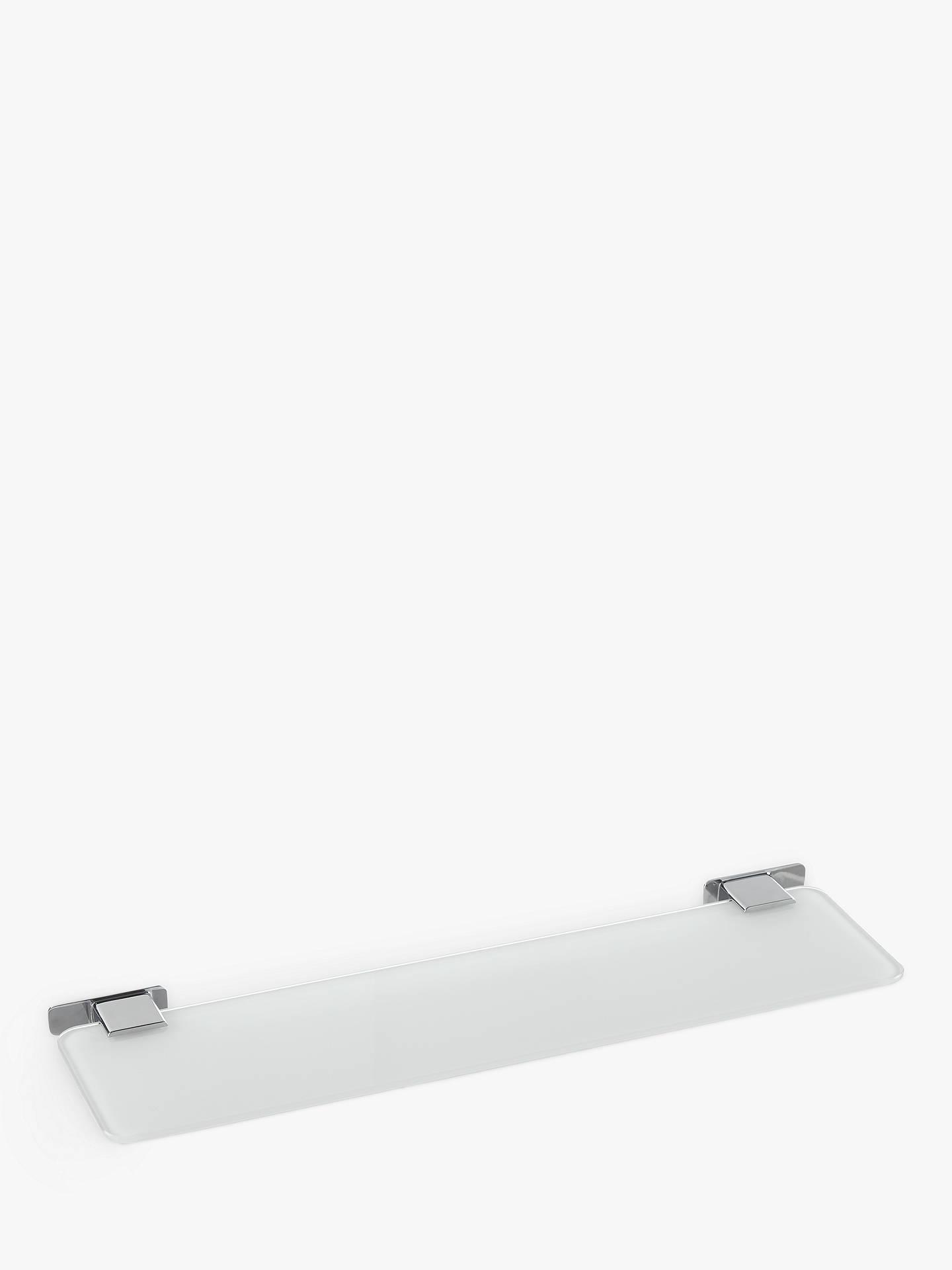 Buy House By John Lewis Form Glass Bathroom Shelf Online At Johnlewis.com  ...