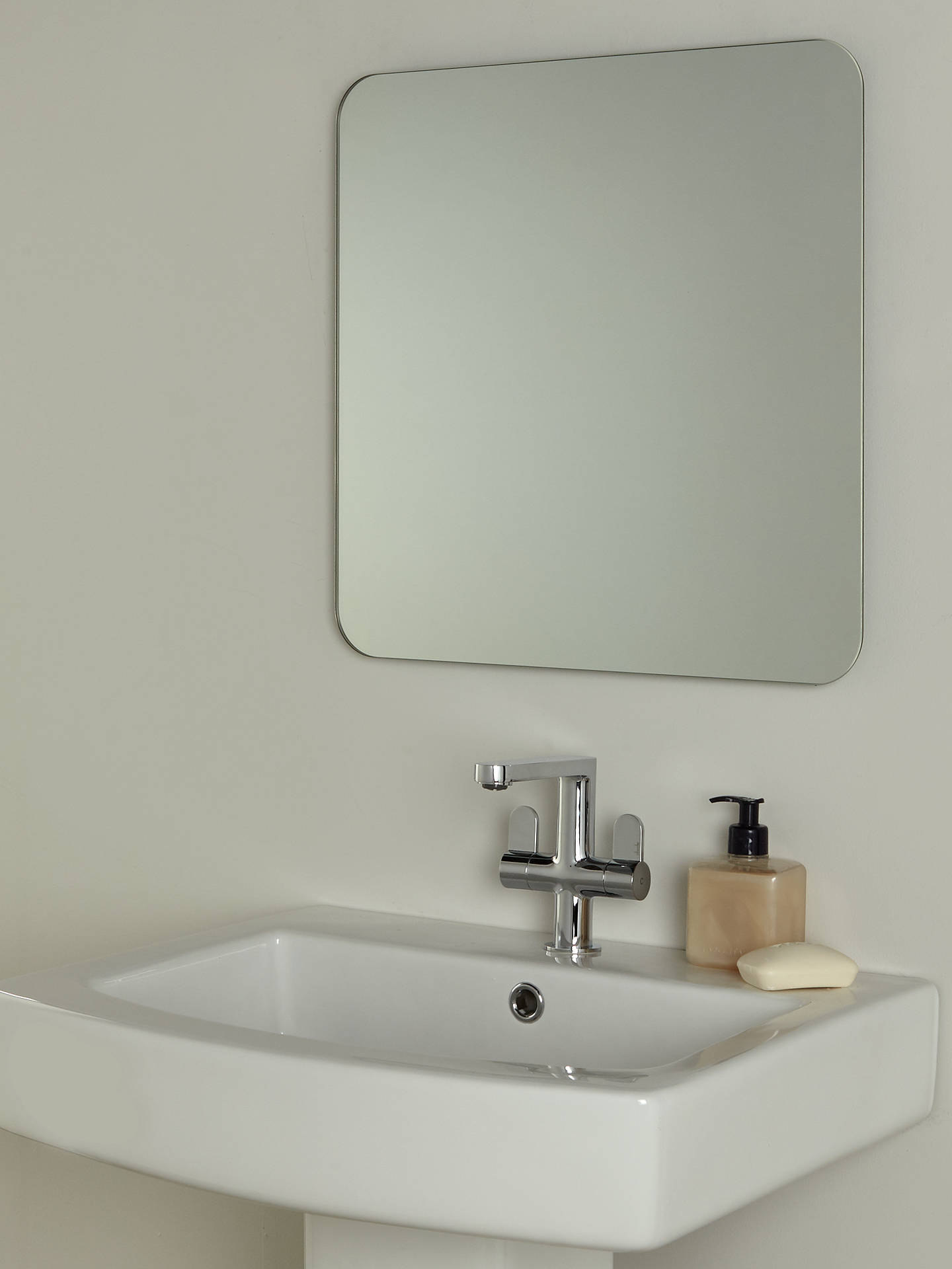 house by john lewis form bathroom wall mirror at john. Black Bedroom Furniture Sets. Home Design Ideas