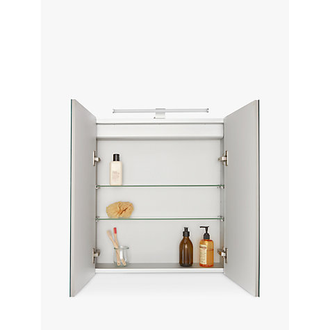... Buy John Lewis Debut Double Bathroom Cabinet Online At Johnlewis.com ...
