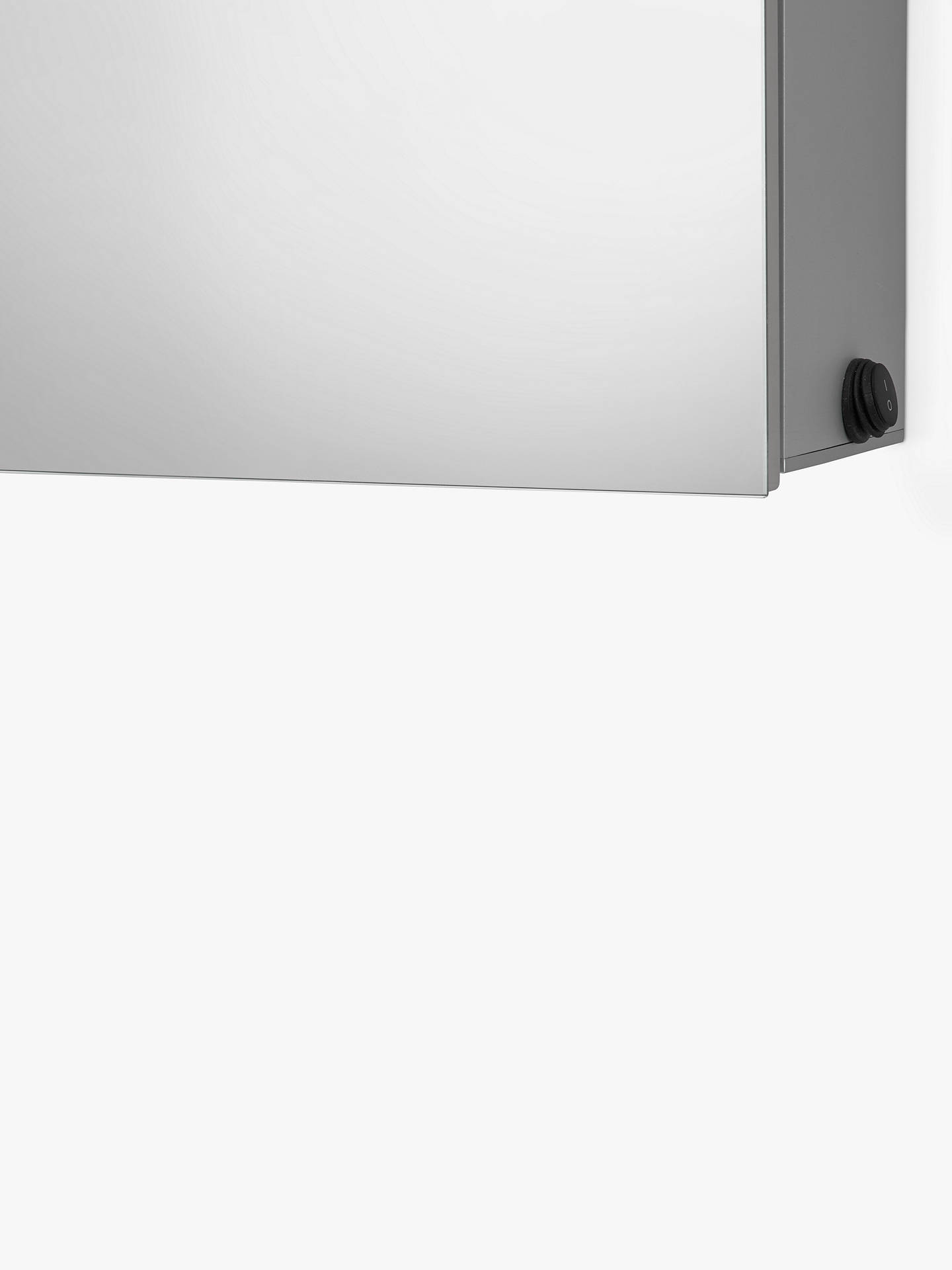 Buy John Lewis & Partners Debut Double Mirrored and Illuminated Bathroom Cabinet Online at johnlewis.com