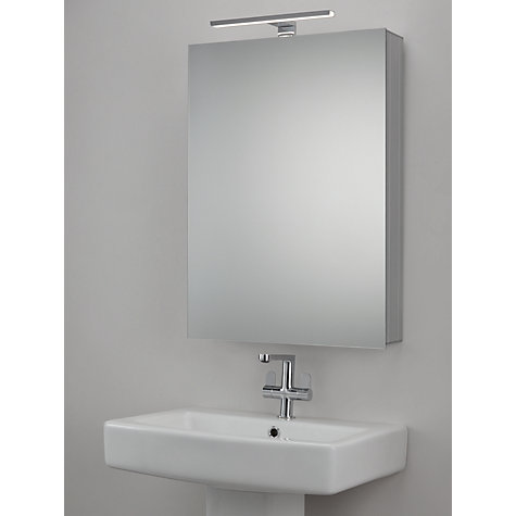 buy john lewis premiere illuminated bathroom cabinet online at johnlewiscom - Bathroom Cabinets John Lewis