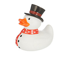 Buy John Lewis Snowman Duck, Multi Online at johnlewis.com