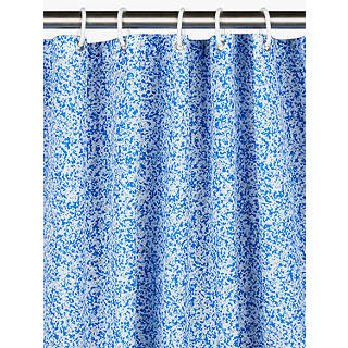 House By John Lewis Terrazzo Shower Curtain Multi