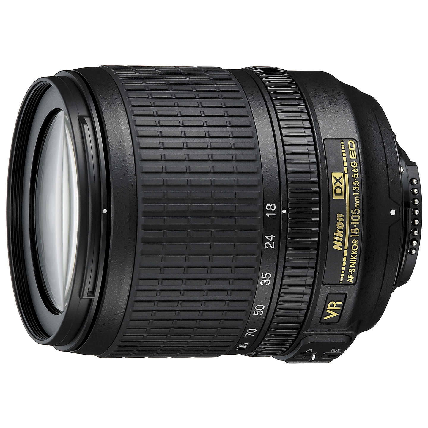 "BuyNikon D5300 Digital SLR Camera with 18-105mm VR Zoom Lens, HD 1080p, 24.2MP, Wi-Fi, 3.2"" Screen Online at johnlewis.com"