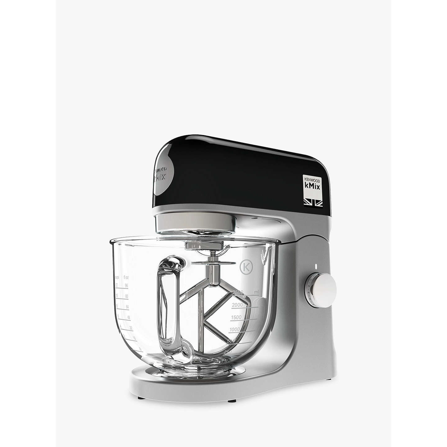 BuyKenwood kMix KMX754 Stand Mixer, Black Online at johnlewis.com