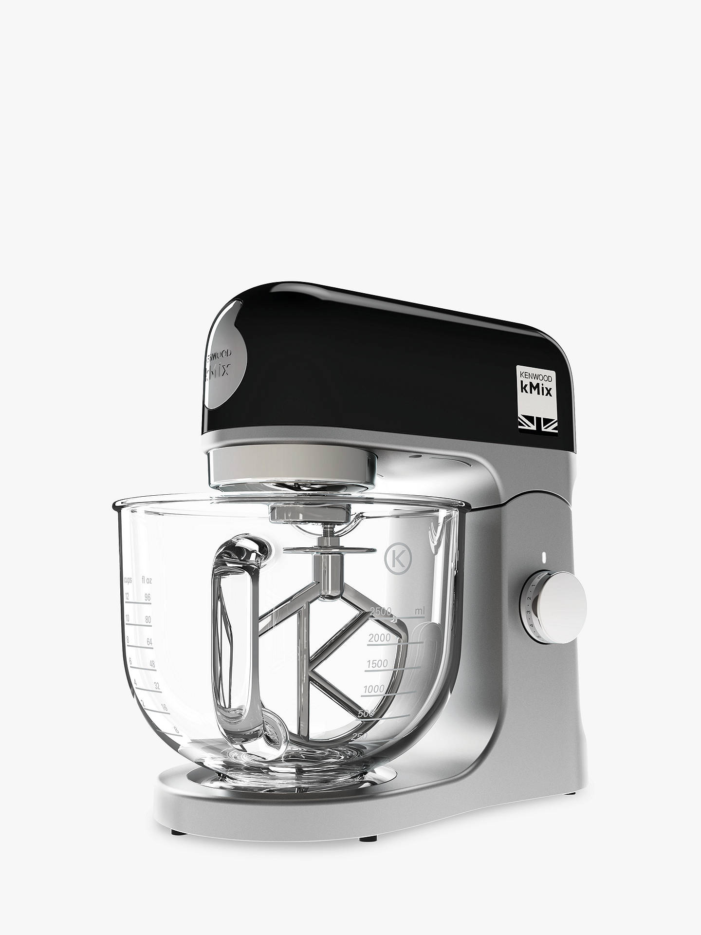 Buy Kenwood kMix KMX754 Stand Mixer, Black Online at johnlewis.com