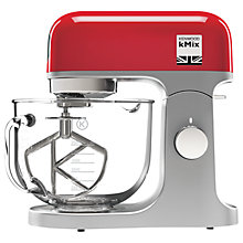 Buy Kenwood kMix KMX754 Stand Mixer, Red + FREE kMix Blender Online at johnlewis.com