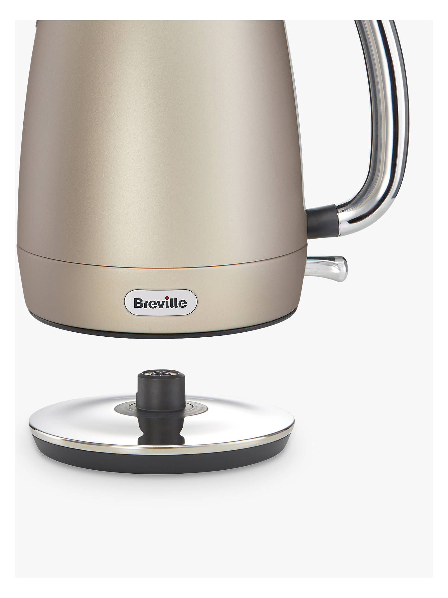 BuyBreville Strata Luminere Kettle, Platinum Online at johnlewis.com