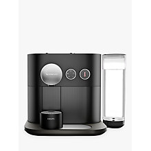 Buy Nespresso Expert Coffee Machine by KRUPS, Matt Black Online at johnlewis.com