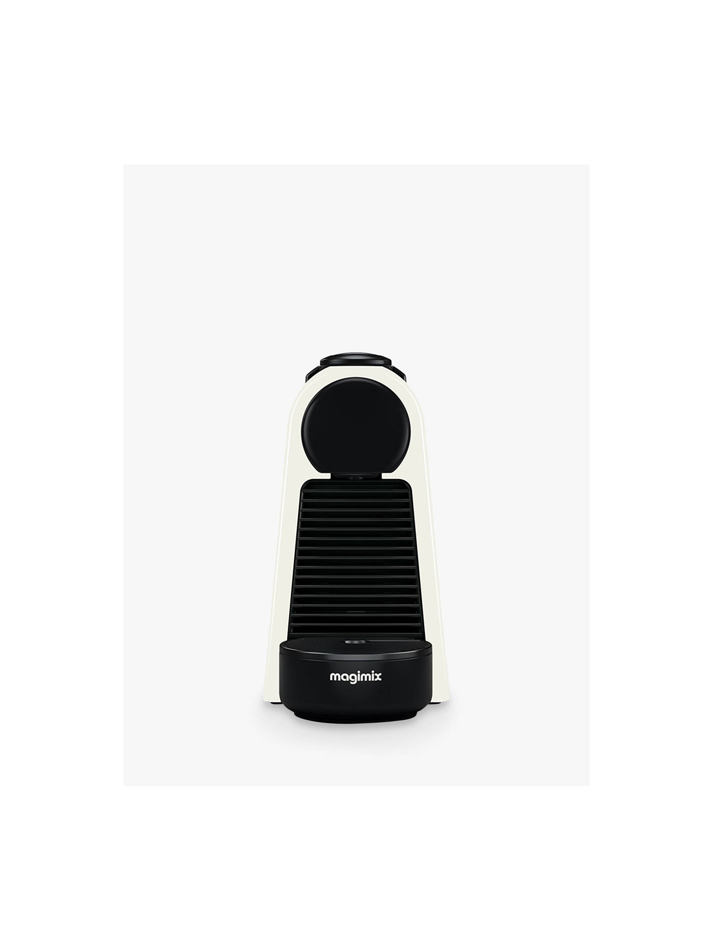Buy Nespresso Essenza Mini Coffee Machine by Magimix, White Online at johnlewis.com