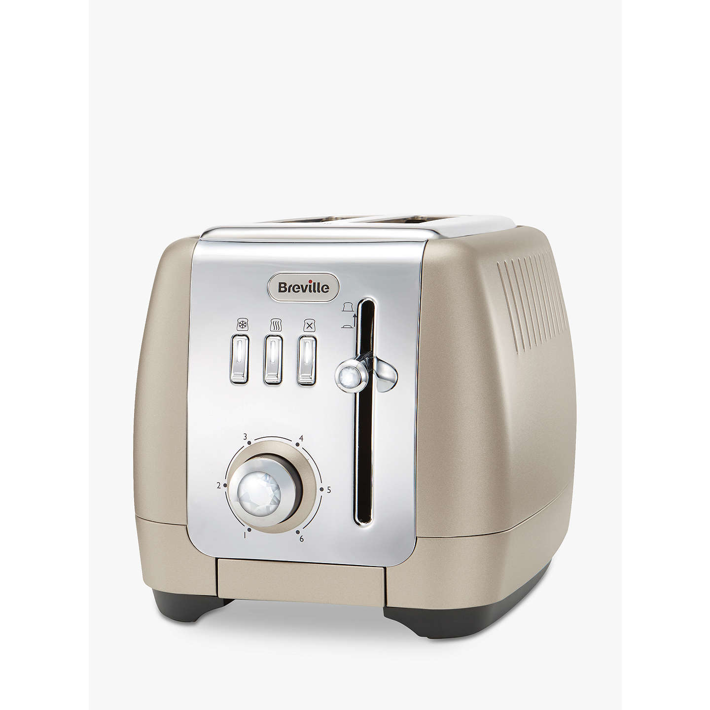 BuyBreville Strata Luminere 2-Slice Toaster, Platinum Online at johnlewis.com