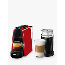 Buy Nespresso Essenza Mini Coffee Machine with Aeroccino by Magimix Online at johnlewis.com