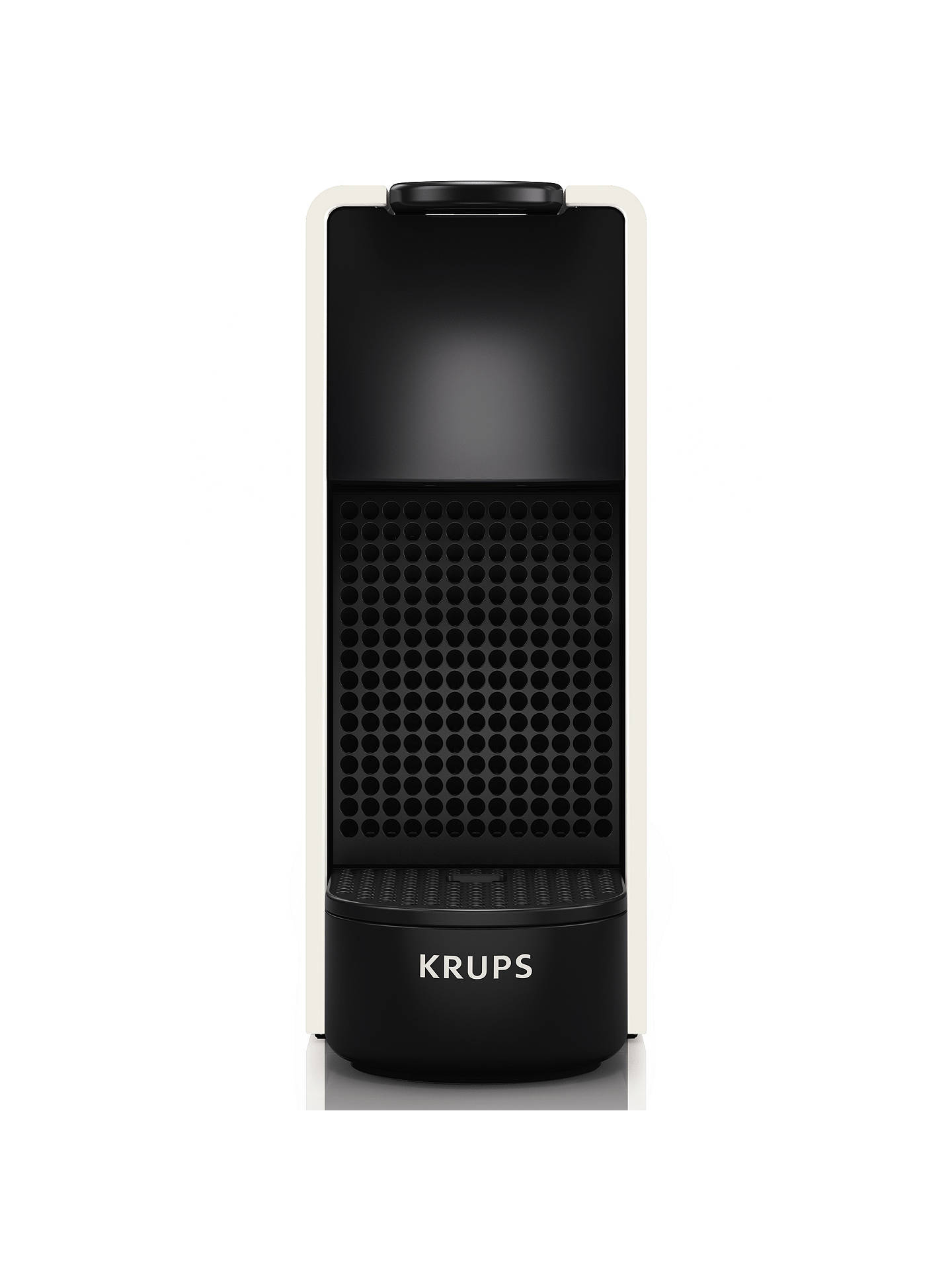 Buy Nespresso Essenza Mini Coffee Machine by KRUPS, White Online at johnlewis.com