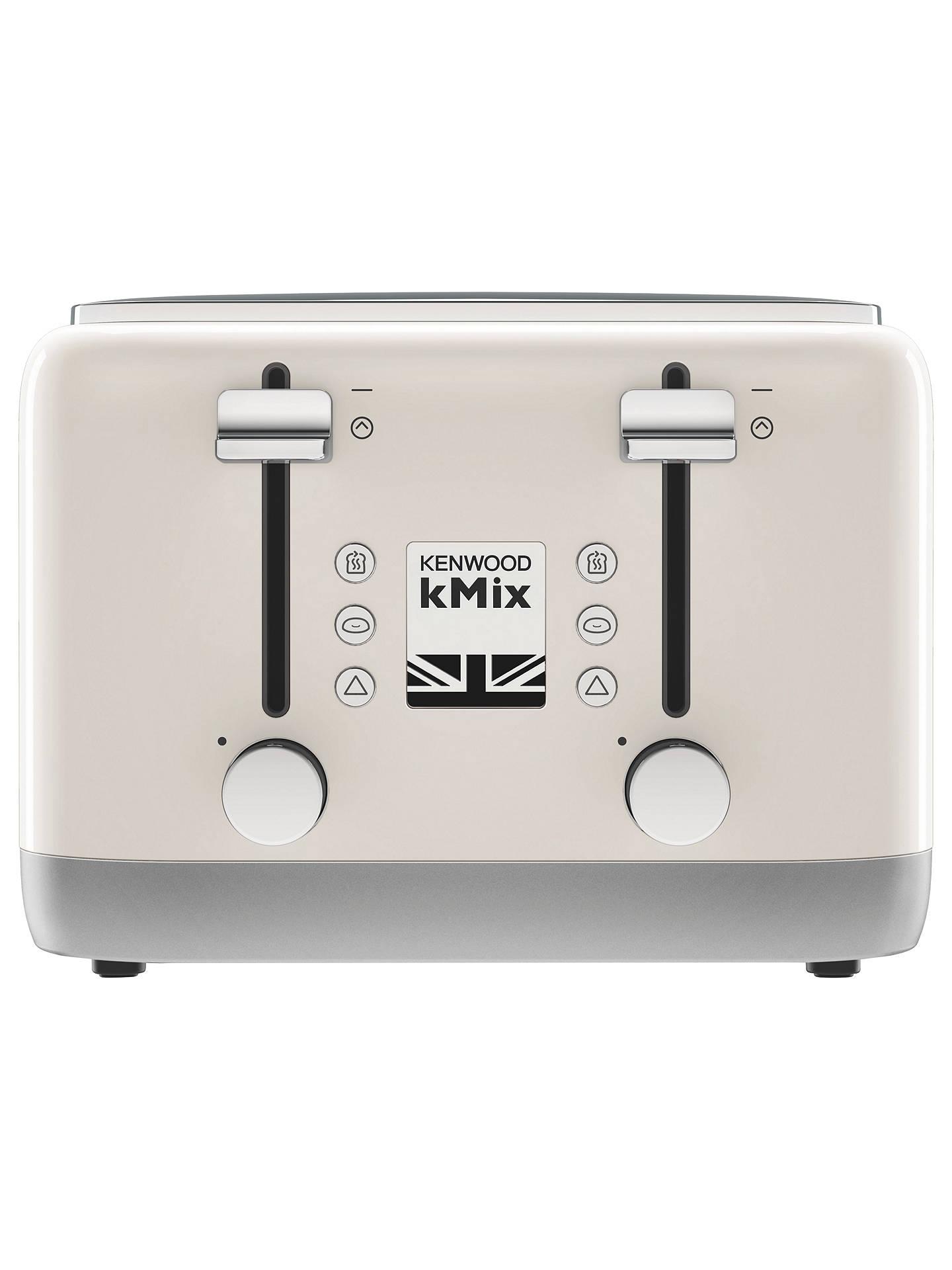 Kenwood Kmix Tfx750 4 Slice Toaster At John Lewis Amp Partners
