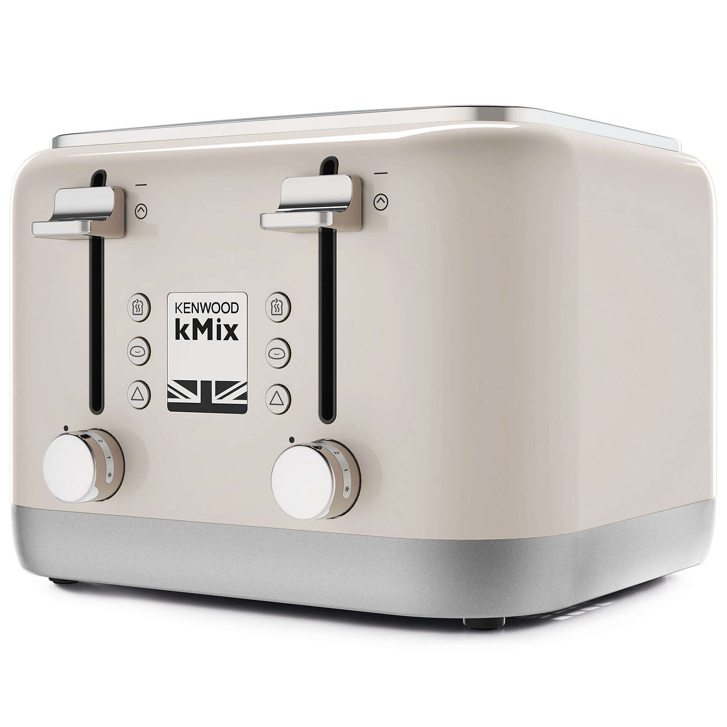 kenwood kmix tfx750 4 slice toaster at john lewis. Black Bedroom Furniture Sets. Home Design Ideas