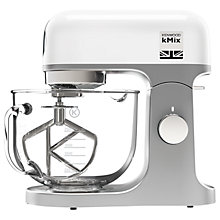 Buy Kenwood kMix KMX754 Stand Mixer, White + FREE kMix Blender Online at johnlewis.com