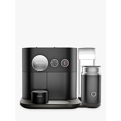 Nespresso Expert Coffee Machine with Aeroccino by KRUPS, Matt Black