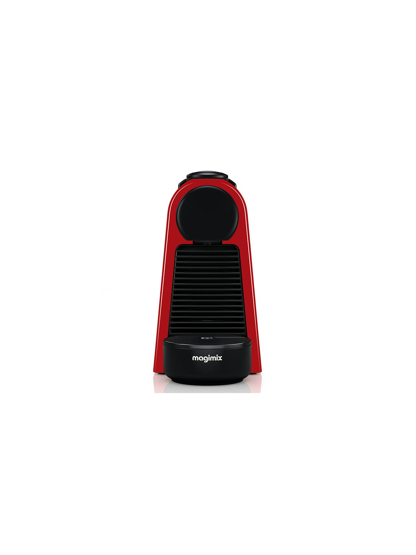 BuyNespresso Essenza Mini Coffee Machine by Magimix, Red Online at johnlewis.com