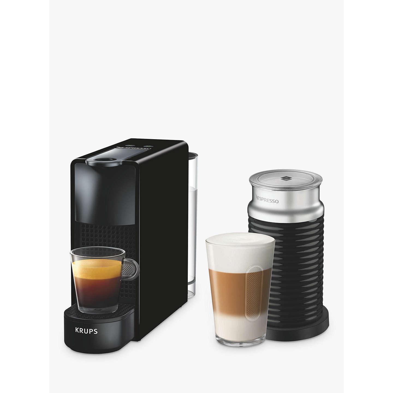 nespresso essenza mini coffee machine with aeroccino by. Black Bedroom Furniture Sets. Home Design Ideas