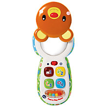 Buy VTech Peek & Play Phone Baby Toy Online at johnlewis.com