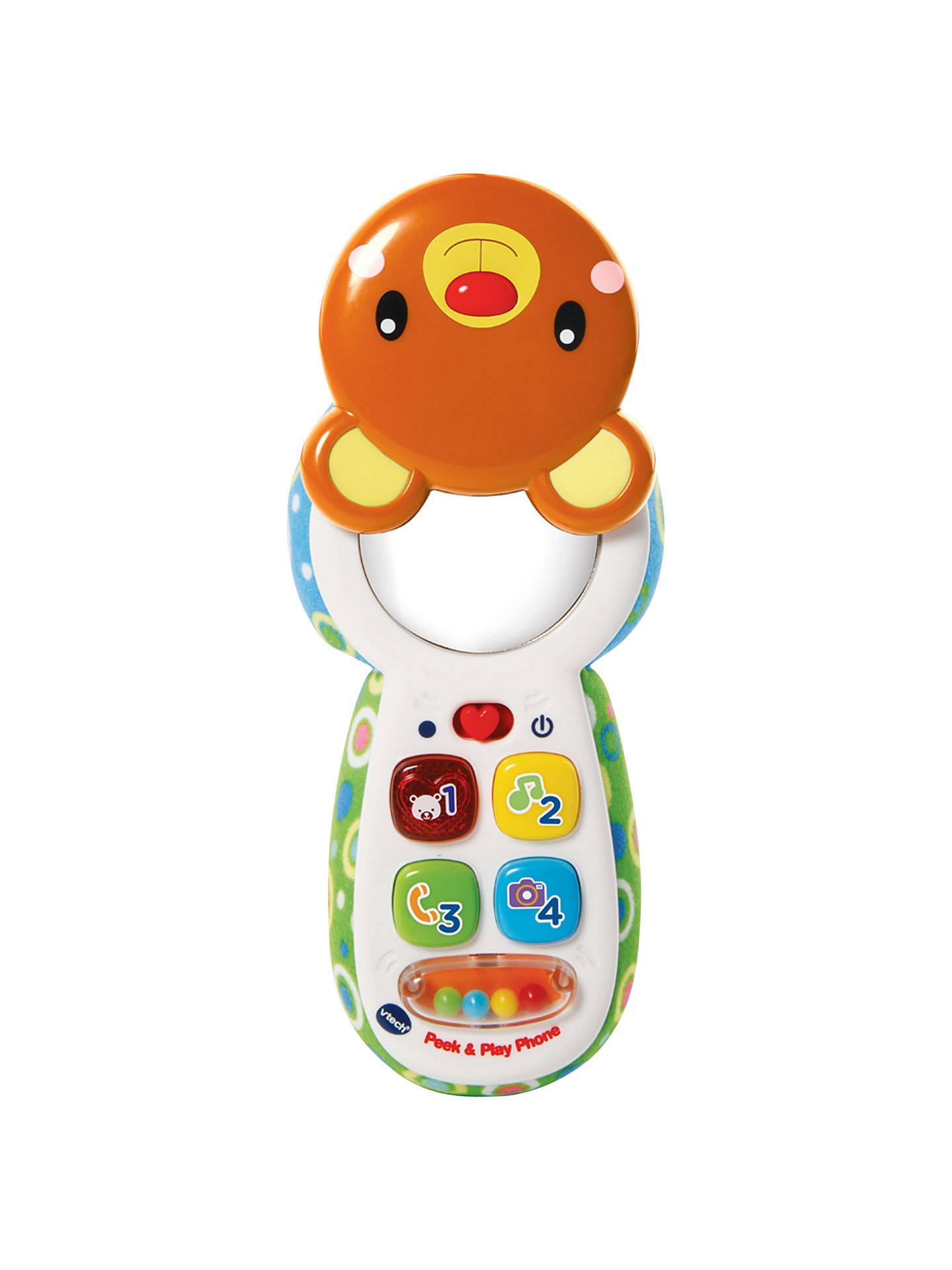 Vtech Peek Play Phone Baby Toy At John Lewis Partners