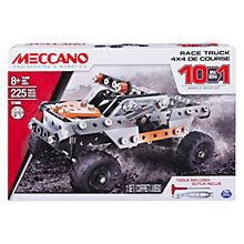 Buy Meccano 10-in-1 4 x 4 Race Truck Online at johnlewis.com