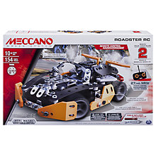 Buy Meccano Roadster Remote Control Car Online at johnlewis.com