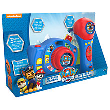 Buy Paw Patrol My First Camera & Microphone Online at johnlewis.com