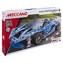 Buy Meccano Lamborgini Huracan Spyder Model Set Online at johnlewis.com