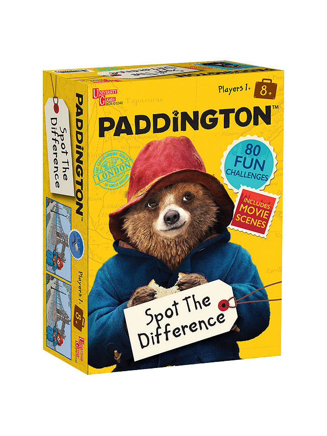 Buy Paddington Spot The Difference Game Online at johnlewis.com