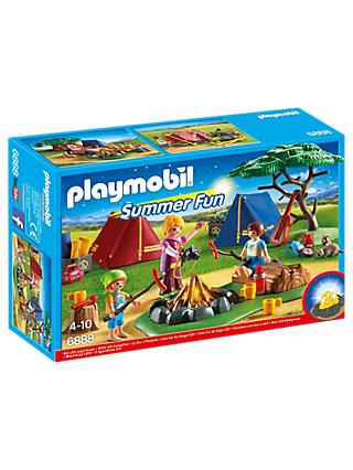 Playmobil Summer Campsite with LED Fire