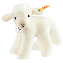 Buy Steiff Linda Lamb 16cm Soft Toy Online at johnlewis.com