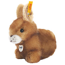 Buy Steiff Hoppel Rabbit 14cm Soft Toy Online at johnlewis.com