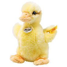 Buy Steiff Pilla Duckling 14cm Soft Toy Online at johnlewis.com