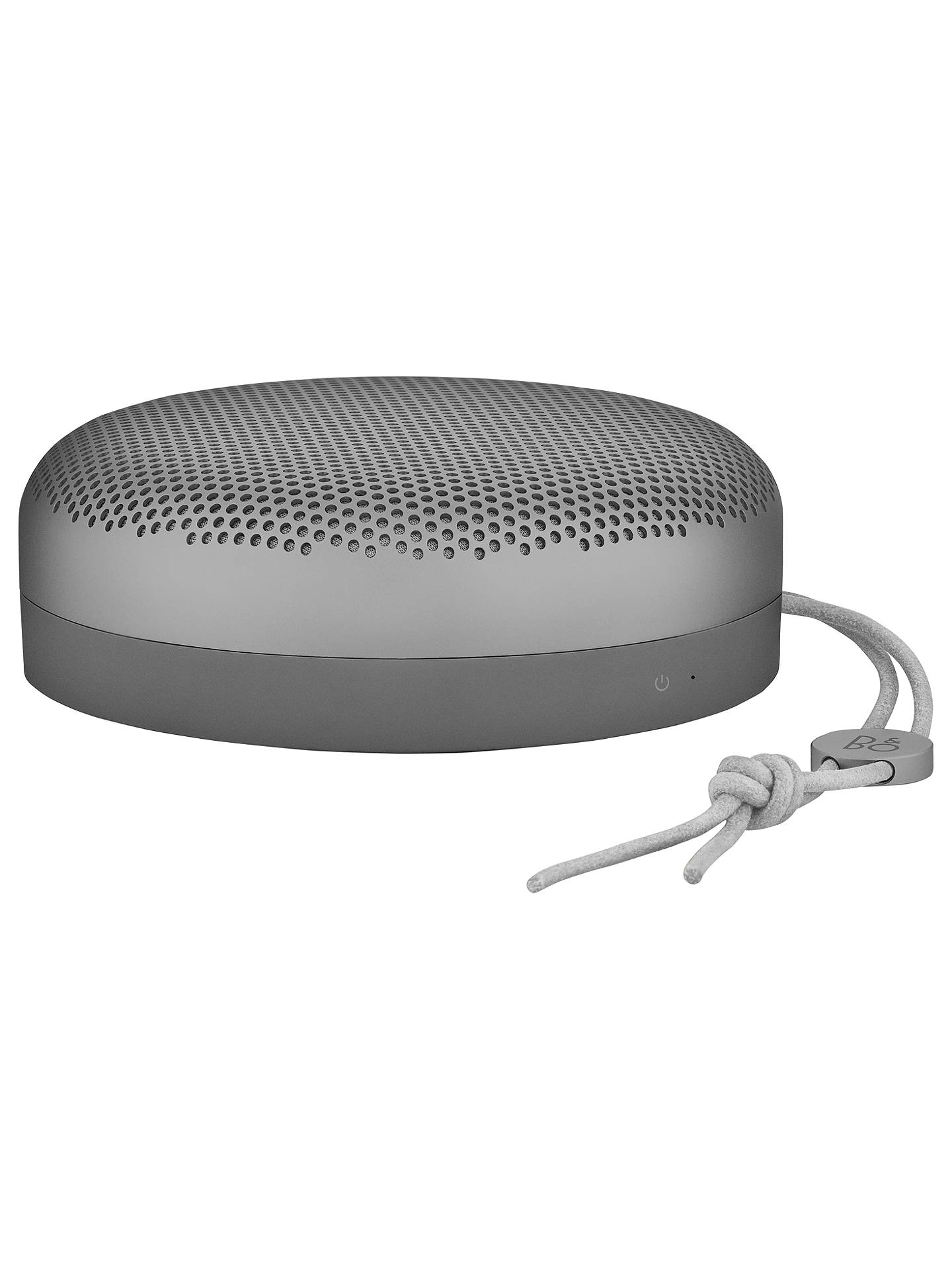 Buy Bang & Olufsen Beoplay A1 Portable Bluetooth Speaker, Charcoal Sand Online at johnlewis.com