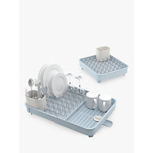 Buy Joseph Joseph Extend Expandable Dish Rack, Blue/Grey Online at johnlewis.com