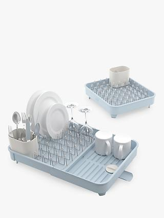 Joseph Joseph Extend Expandable Dish Rack, Blue/Grey