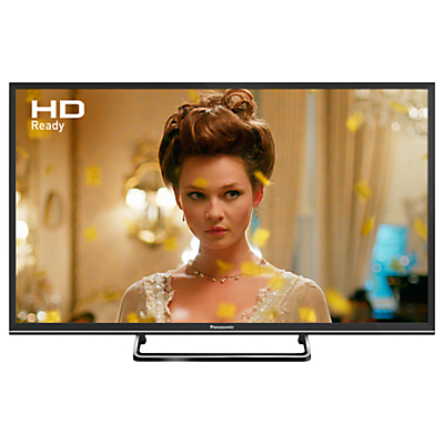 Panasonic 32ES503BSAT LED HD Ready 720p Smart TV, 32 With Freeview Play, Freesat HD & Adaptive Backlight Dimming, Black
