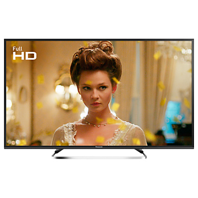 Panasonic 49ES503BSAT LED Full HD 1080p Smart TV, 49 With Freeview Play, Freesat HD & Adaptive Backlight Dimming, Black