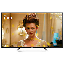 "Buy Panasonic 49ES503BSAT LED Full HD 1080p Smart TV, 49"" With Freeview Play, Freesat HD & Adaptive Backlight Dimming, Black Online at johnlewis.com"