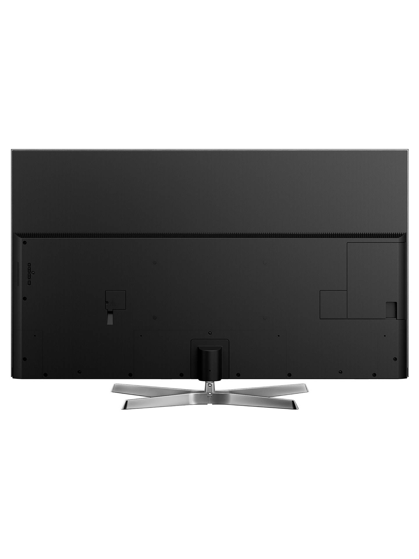"BuyPanasonic TX-65EX750B LED HDR 4K Ultra HD 3D Smart TV, 65"" with Freeview Play/Freesat HD & Swivel Stand, Ultra HD Certified, Silver Online at johnlewis.com"