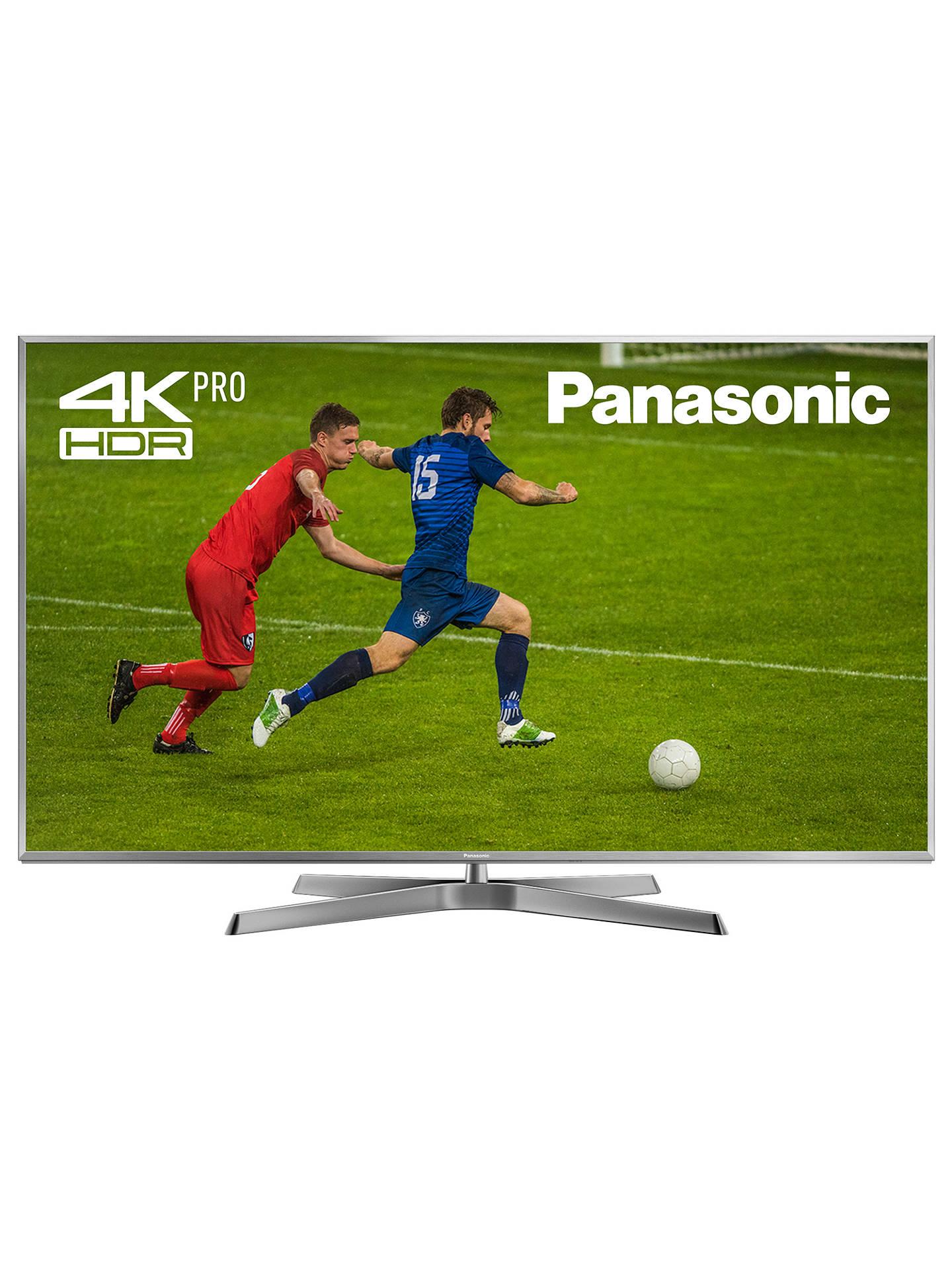 Panasonic TX-50EX750B LED HDR 4K Ultra HD 3D Smart TV, 50
