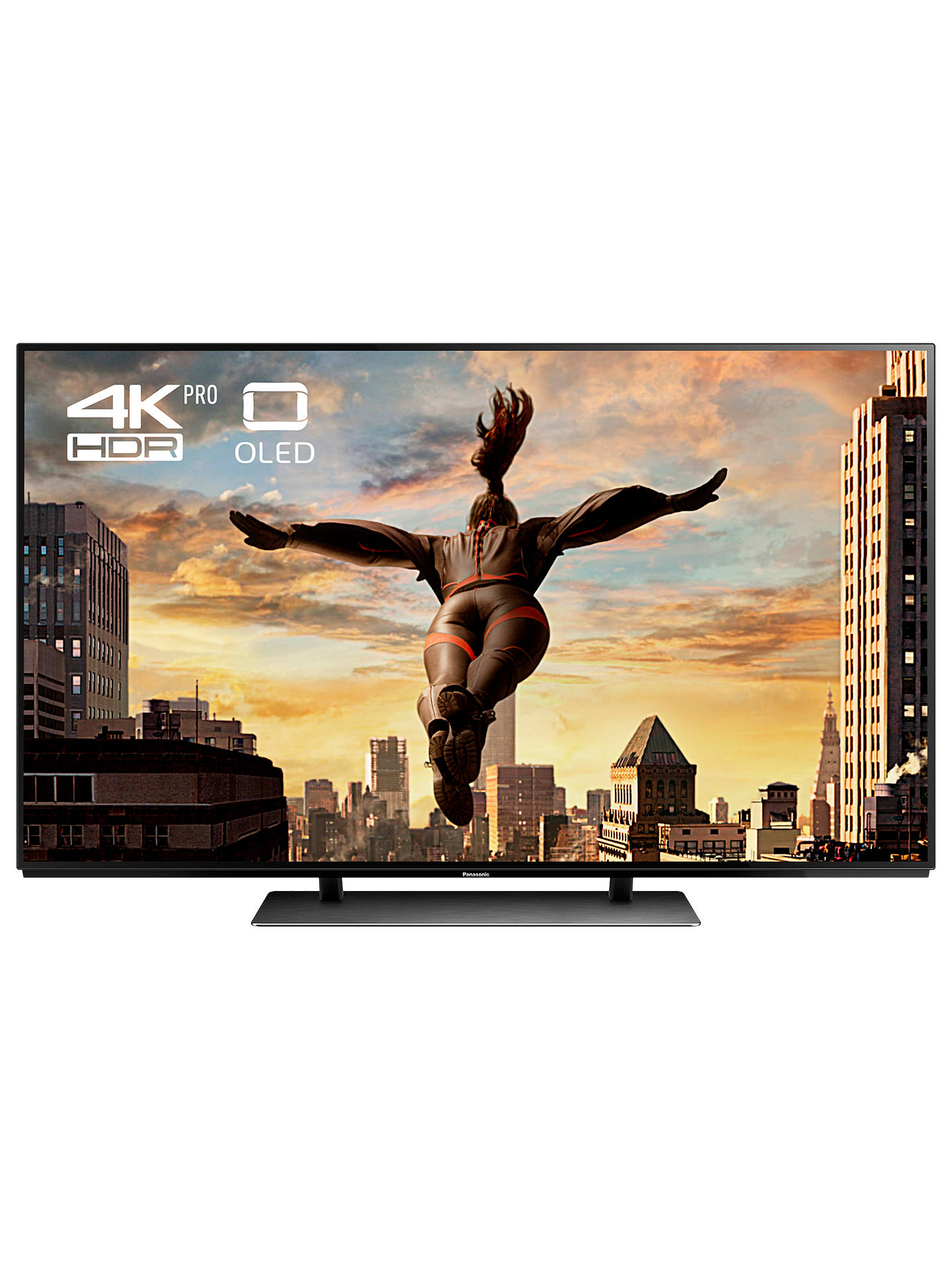 "BuyPanasonic TX-65EZ952B OLED HDR 4K Ultra HD Smart TV, 65"" with Freeview Play & Super Slim Design, Ultra HD Premium Certified, Black Online at johnlewis.com"