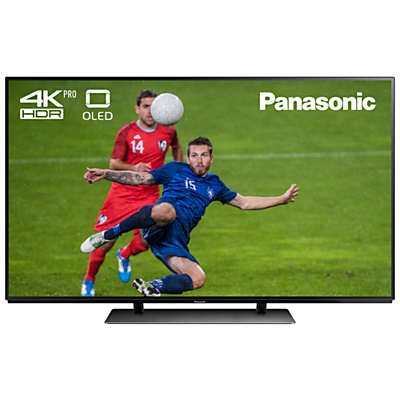 Image of Panasonic TX-65EZ952B OLED HDR 4K Ultra HD Smart TV, 65 with Freeview Play & Super Slim Design, Ultra HD Premium Certified, Black