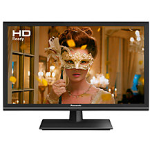 "Buy Panasonic 24ES500B LED HD Ready 720p Smart TV, 24"" With Freeview Play & Adaptive Backlight Dimming, Black Online at johnlewis.com"